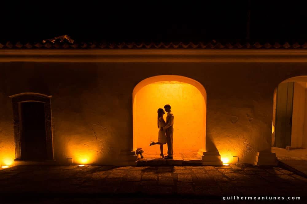 Aletheia e Kleverson: Ensaio pré-wedding (Portal das luzes)