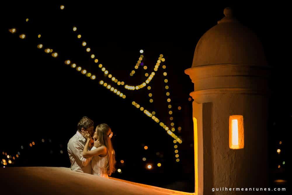 Aletheia e Kleverson: Ensaio pré-wedding (Na torre)