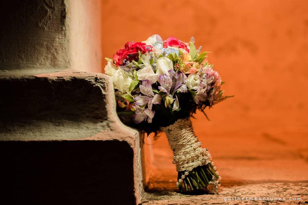 Aletheia e Kleverson: Ensaio pré-wedding (Buquê)