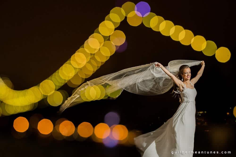 fotografia de casamentos em Florianópolis noite em floripa