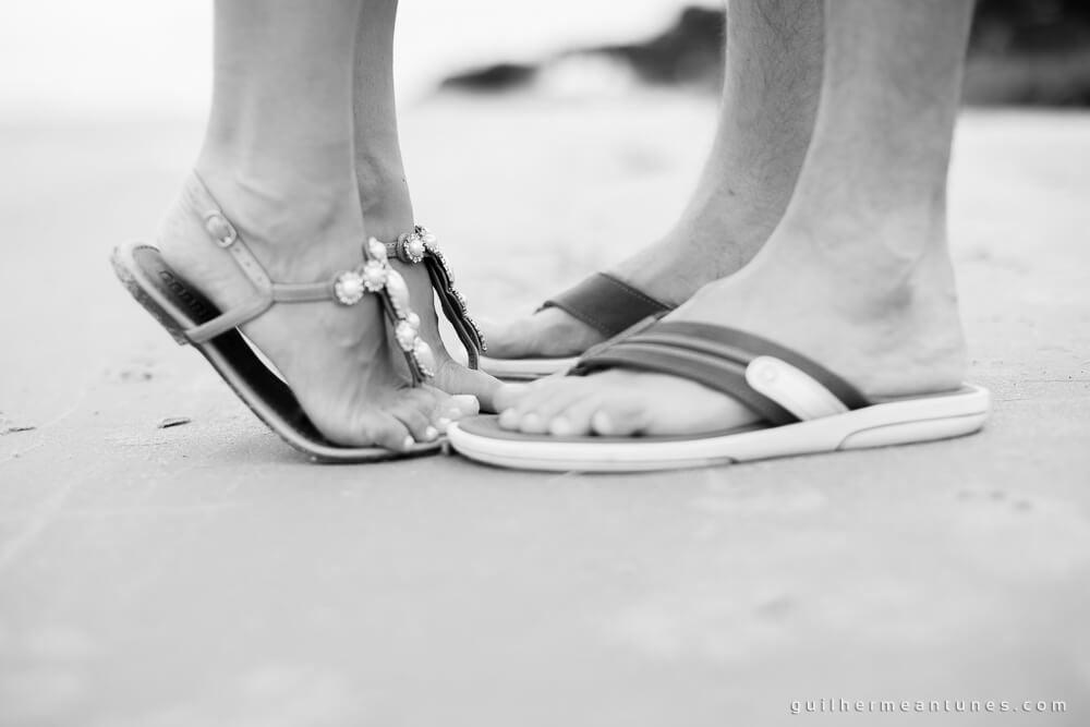 Aletheia e Kleverson: Ensaio pré-wedding (Na ponta dos pés)
