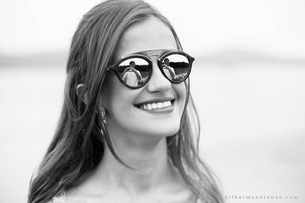 Aletheia e Kleverson: Ensaio pré-wedding (Pelos óculos)