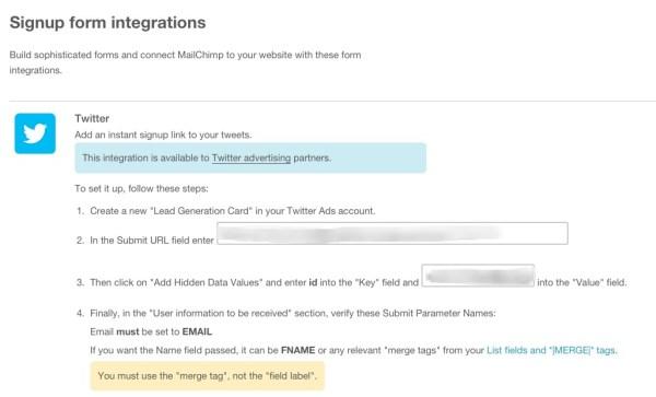 MailChimp-integration-twitter-card