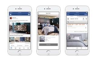Facebook lance un tout nouveau format publicitaire proche du catalogue traditionnel