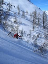 Conditions de rêve en ski de randonnée dans le val d'Entraunes