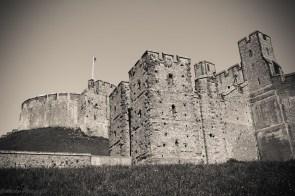 le Chateau d'Arundel, principal fief, et le siège des ducs de Norfolk, premiers pairs d'Angleterre, qui détiennent le titre subsidiaire de comte d'Arundel.