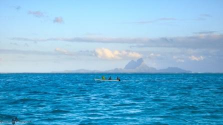 Tahaa - vue de Bora Bora
