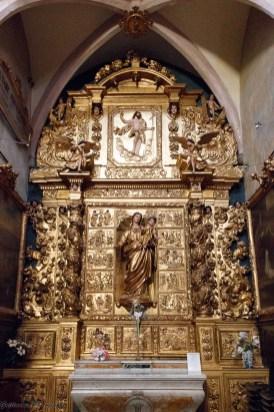 Rivesaltes - Retable de l'église Saint-André