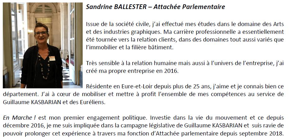 Bio Sandrine Ballester
