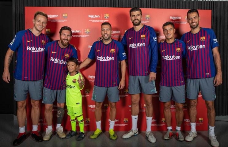 Evento privado VIP Rakuten y Barça