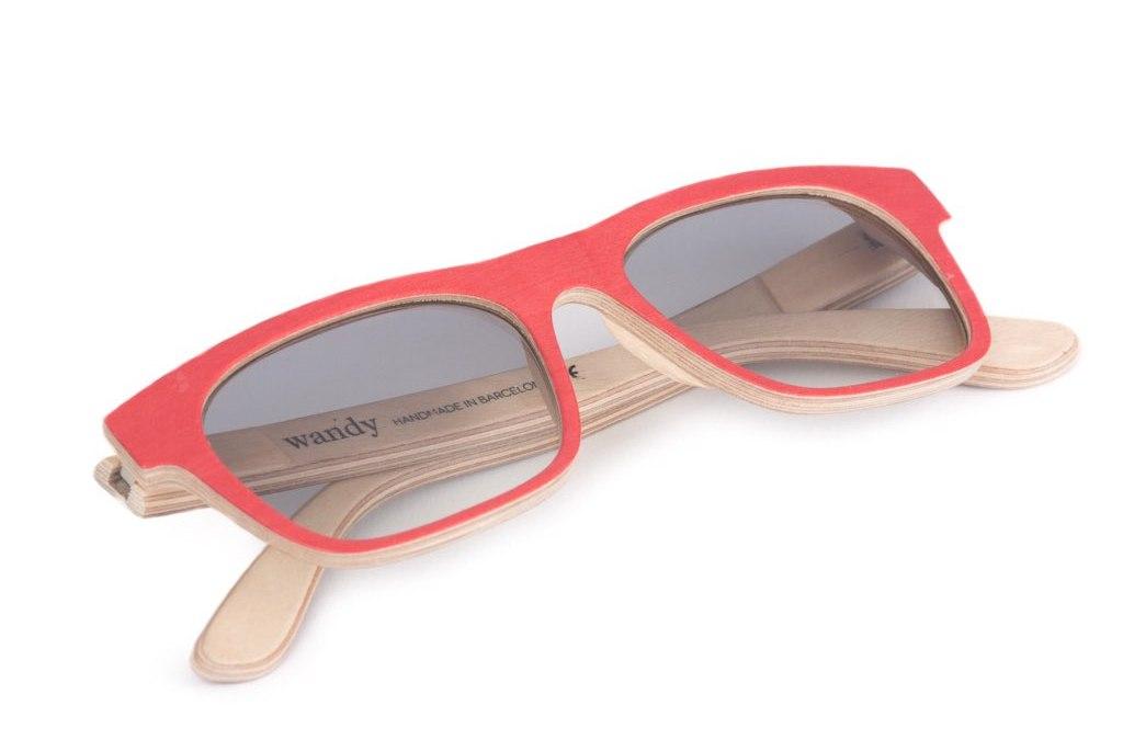Fotografiando gafas de sol Wandy