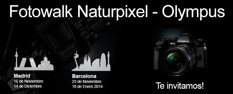Fotowalk gratuït amb Naturpixel i Olympus