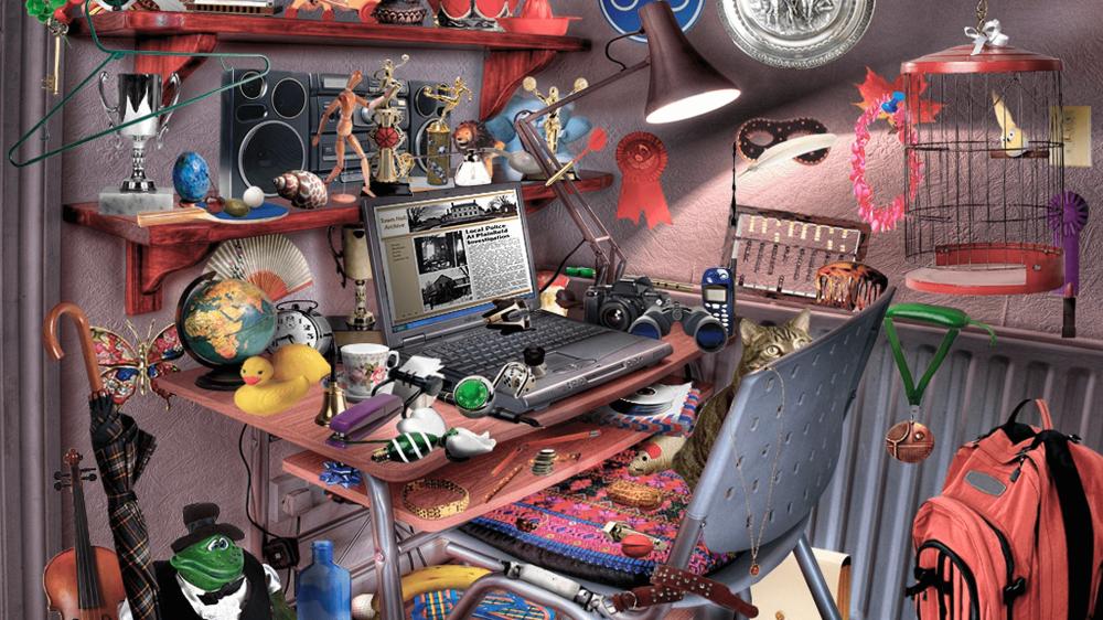 objetos ocultos habitación