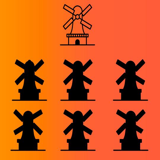 Juegos mentales con imagenes molinos