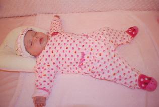 Me Sleeping in my crib...