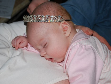 THE TUCKERED OUT PRINCESS On her 3rd Princess-versary