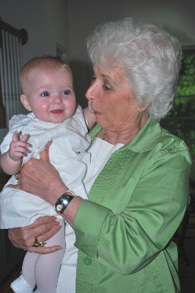 Look at me, hanging out with my great grandma!