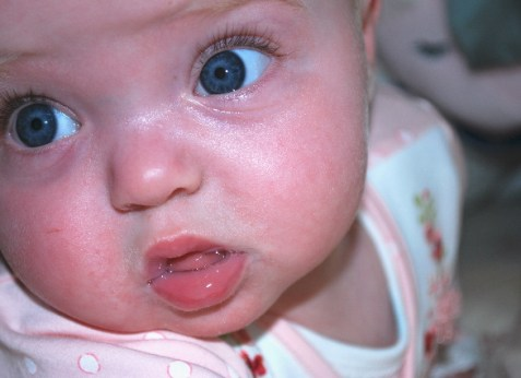 LITTLE MISS ADORABLE AND HER BABY BLUES!