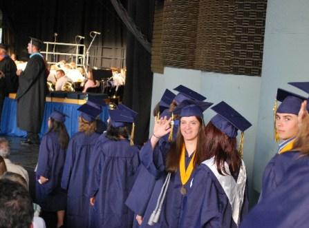 Aunt Arri in line to graduate!