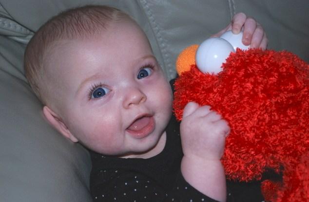 Lovin' Elmo!