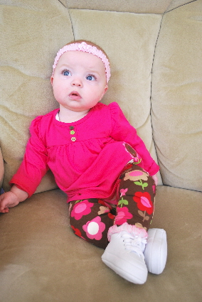 Hanging out like a little lady in my Princess Rocker!