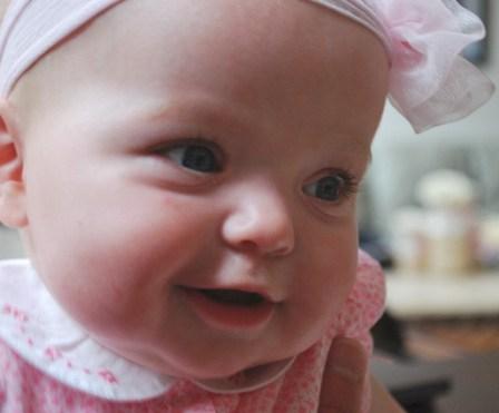 I am thinking ... I like smiling!