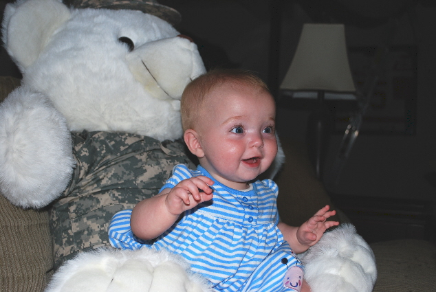 Me and my Army bear in his ACU's