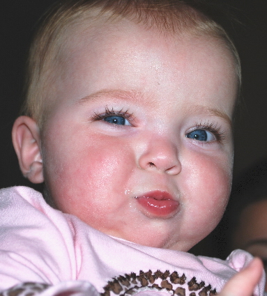 This is what I think of baby food meat in a jar... I don't care if I look like the Gerber baby, I hate that meat stuff!