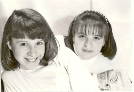 Mom and Aunt Mikayla... so cute!