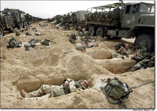 SLEEPING IN IRAQ