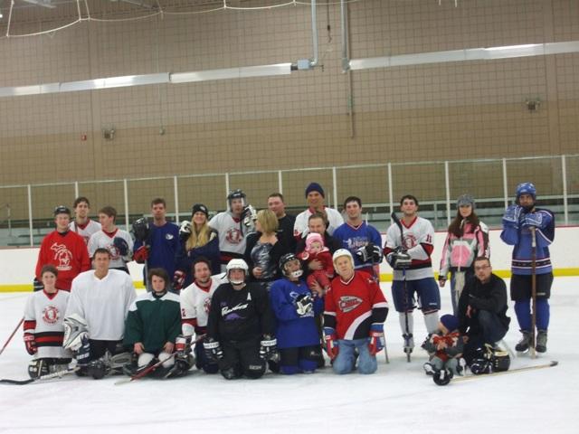 2009 Group photo Annual Memorial Skate!