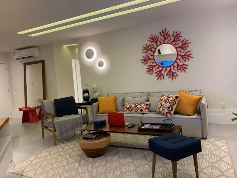 Apartamento de 90M2 projetado por Cinthia Accioli
