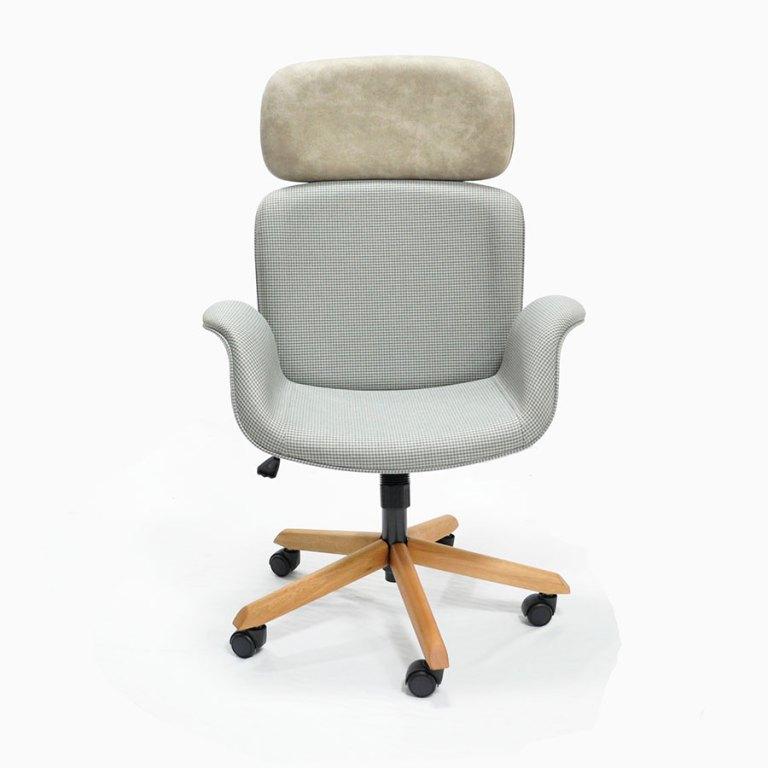 cadeira Amanda Presidente em tecido