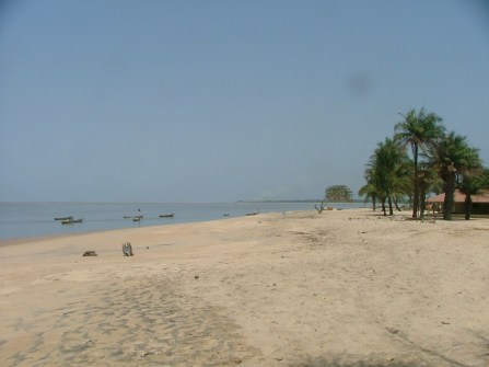 The beach in Koba.