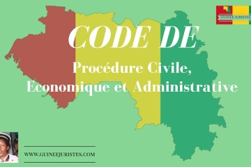 CODE DE PROCEDURE CIVILE ECONOMIQUE ET ADMINISTRATIVE