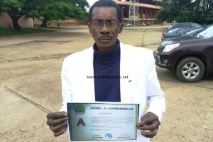 Lacina Koné, coach de l'AS Kaloum : « Content d'avoir la licence A CAF »