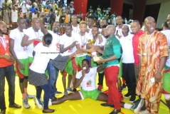 Basket-ball /Playoff : Le Magic Basket Club remporte le titre de champion de Guinée
