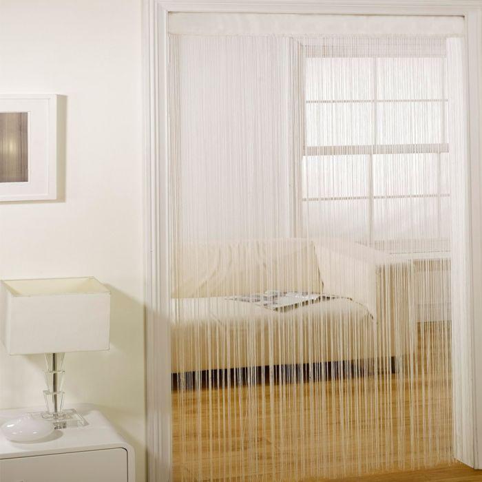 majorca string door curtain cream