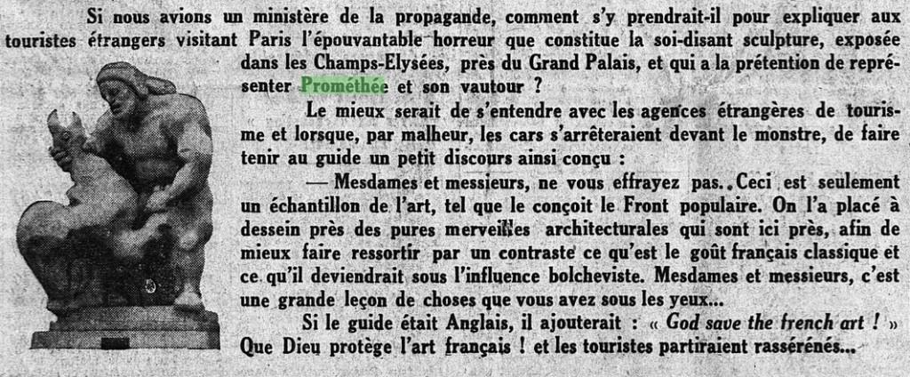 VI. Le Matin, 2 mai 1938