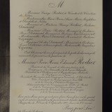 VI. Annonce de mort Edmond Rodier