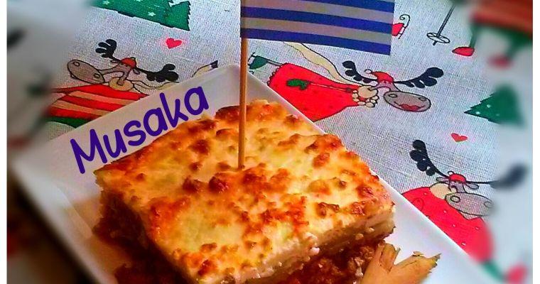 Musaka Original, Grecia. (Cena de Navidad Worldwide)