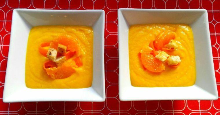 Crema de zanahoria y naranja. [Perfecta para preparar la piel para el verano]