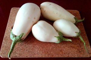 Berenjenas blancas