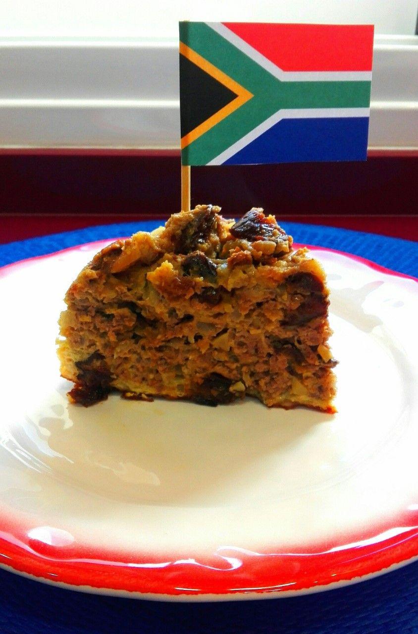 Bobotie o Budín de carne de buey, Sudáfrica. [Navidad Worldwide]
