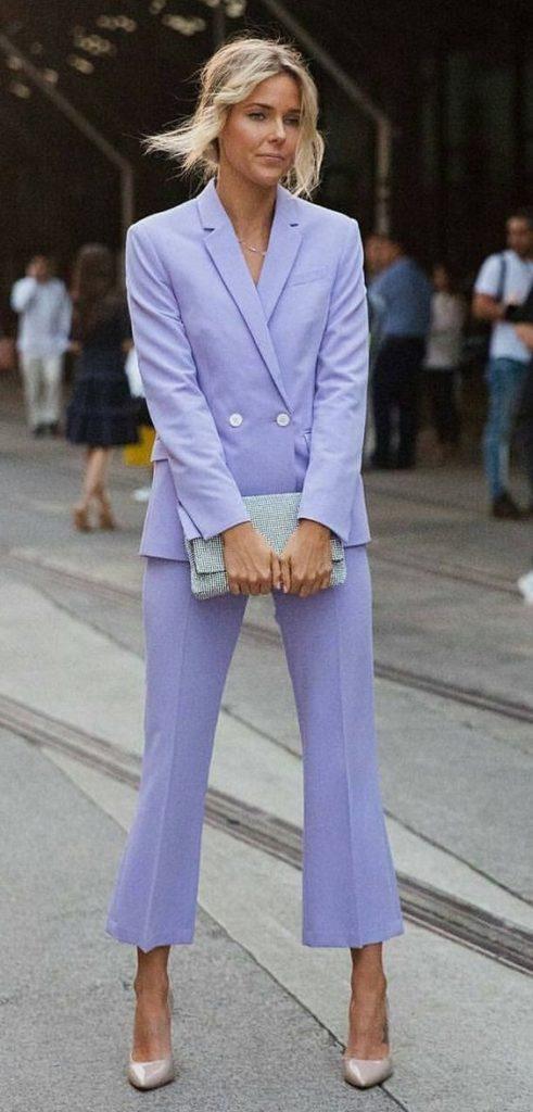 Terninho, blazer e calça de alfaiataria