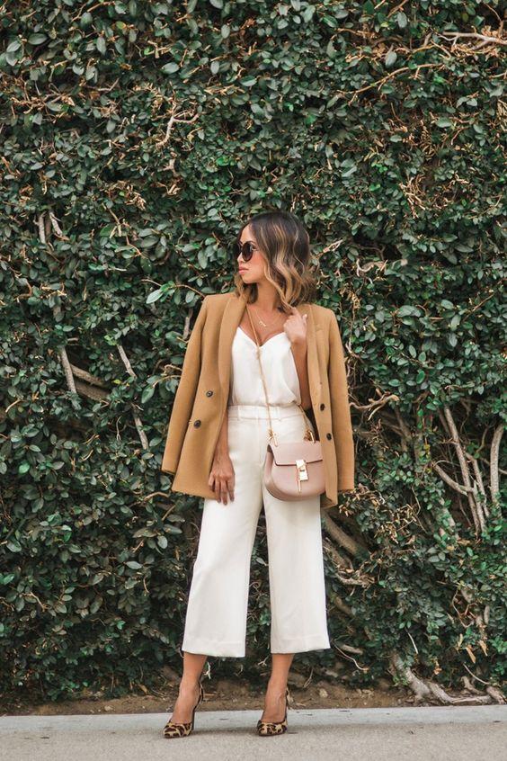 blazer, blusa e calça banca