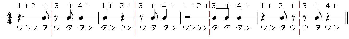 8ビート:問題4の答え