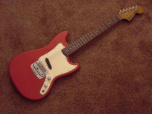 フェンダーブロンコ(fender bronco)のエレキギター