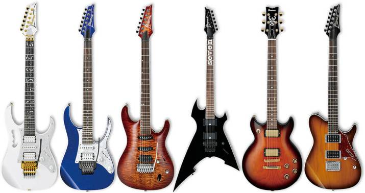 アイバニーズ(Ibanez)のエレキギター