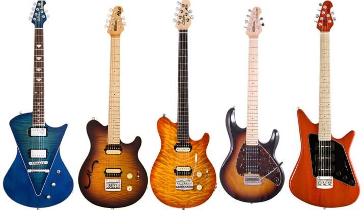 Ernie Ball Music Manのエレキギター